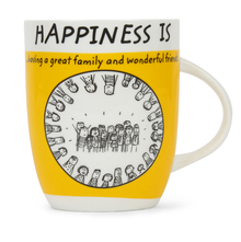 Hap Friends 420 ml Coffee Mug - @home by Nilkamal, Yellow