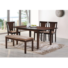 Spectrum 1+ 3+ Bench Dining Kit - @home by Nilkamal, Antique Oak