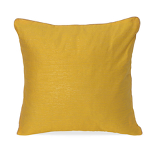 Texture 40 x 40 cm Cushion Cover Set of 2 - @home by Nilkamal, Yellow
