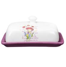 Ceramic Butter Dish - @home by Nilkamal, Purple