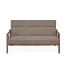 Colette 3 Seater Sofa, Brown