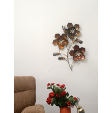 Floret Metal Wall Decor - @home by Nilkamal