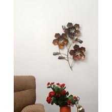 Floret Metal Wall Decor - @home by Nilkamal
