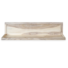 Nimkin 800 Wall Shelf - @home by Nilkamal, White Natural
