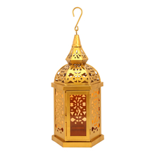 Mugal Ashoka Jali Lantern, Orange