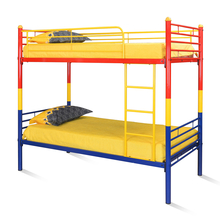 Nilkamal Venice Bunk Bed, Red/Yellow/Blue