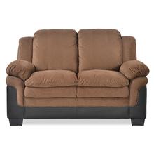 Jude 2 Seater Sofa - @home by Nilkamal,  brown