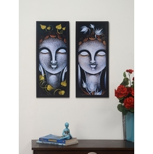 Buddha Painting - @home by Nilkamal, Set of 2