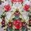 Floral 40 cm x 40 cm Filled Cushion - @home by Nilkamal, Multicolor