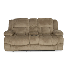 Aviator 2 Seater Sofa with 2 Electric Recliner - @home by Nilkamal, Beige