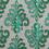 Ikat 40 cm x 60 cm Rug - @home by Nilkamal, Sea Green