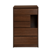 Dean 5 Chest of Drawers, Dark Walnut
