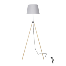 Floor Lamp tripod & Lever with Shade - @home by Nilkamal
