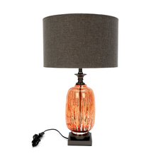 Concept Glass Markus Table Lamp, Orange