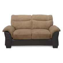 Jasmine 2 Seater Sofa - @home by Nilkamal, Tawny Brown