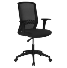 Nilkamal Hydra Mid Back Office Chair, Black