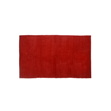 Solid 90 x 150 cm Rug, Red