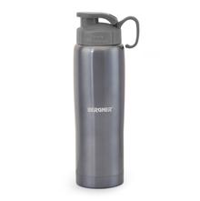 Bergner Stainless Steel Sports Bottle - Blue