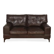 Savio 2 Seater Sofa, Chestnut