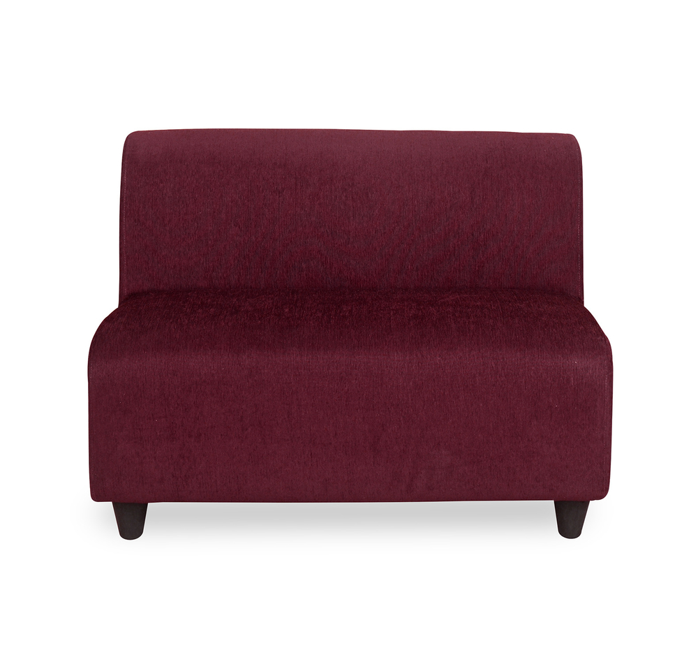 Attrayant Bolt 2 Seater Sofa Without Arm   @home By Nilkamal, Maroon