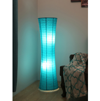 Martin Paper Floor Lamp, Sea Green