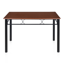 Sidney 4 Seater Dining Table - @home by Nilkamal, Black