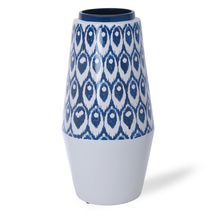 Homely Inks Vase - @home by Nilkamal, Indigo