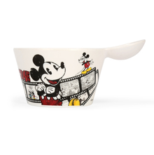 Agedup Mickey Friensnack Bowl, White