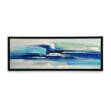 Homely Wave Surf Picture Frame - @home by Nilkamal, Indigo