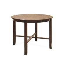 Lauren 4 Seater Dining Table - @home Nilkamal,  brown