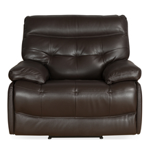 Nexa 1 Seater Sofa With Electric Recliner, Rich Brown