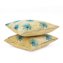 Splash 40 x 40 cm Cushion Cover Set of 2 - @home by Nilkamal, Sea Green