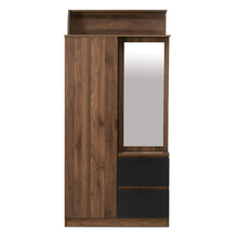 Avenger 2 Door Wardrobe, Walnut