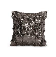 Pyramid 30 cm x 30 cm Cushion Cover Set of 2, Grey