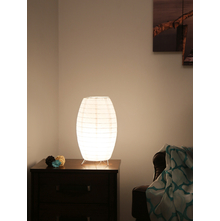 Moonlight Table Lamp, White