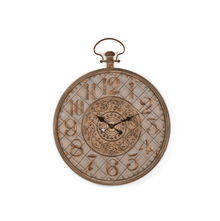 Antique 79X6.5X79 CM Wall Clock, Brown