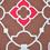 Daliance 152 x 228 cm Single Bedsheet - @home by Nilkamal, Fushcia