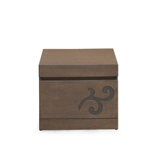 Harvest Night Stand - @home Nilkamal,  brown