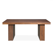 Nilkamal Newark 6 Seater Dining Table, Walnut