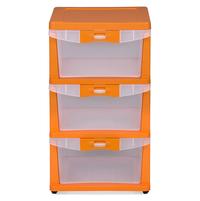 Nilkamal Chester Storage Drawer Series -23,  orange
