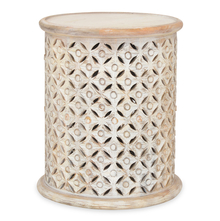 Rusk Side Table - @home by Nilkamal, Ash White