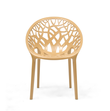 Nilkamal Crystal PP Chair,  biscuit