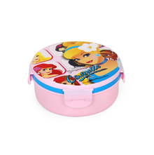 Cinderella Round Lunch Box, Pink