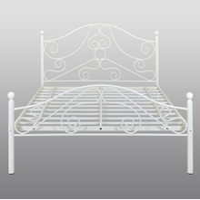 Lizzy Queen Bed without Storage - @home by Nilkamal, Ivory