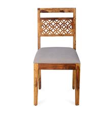 Dalia Dining Chair, Natural Walnut