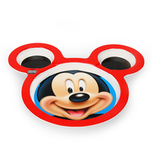 Mickey Face Chip & Dip Plate - @home by Nilkamal, Multicolor