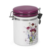 Ceramic Medium Jar, Purple