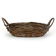 Oval PP Fruit Basket - @home by Nilkamal, Brown