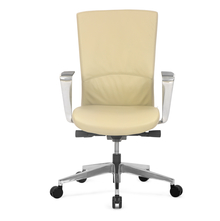 Nilkamal Jiffy Mid Back Office Chair,  cream