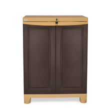 Nilkamal Freedom Small Cabinet,  weather brown